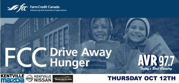 Landry Auto Group FCC Drive Away Hunger Campaign