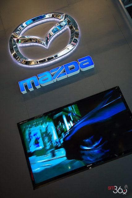 Mazda models at the 2013 Montreal Auto Show