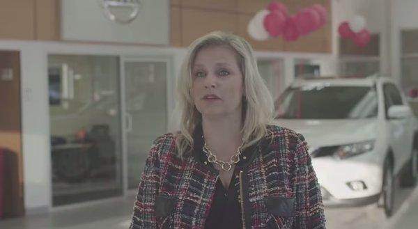 Kentville Nissan's VP, Lisa Landry