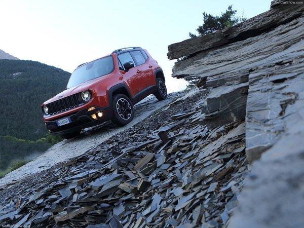 Jeep Renegade 2016 : Le passe-partout compact