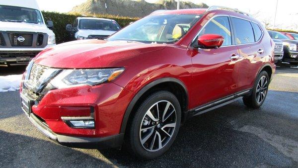 2017 Nissan Rogue SL TECH