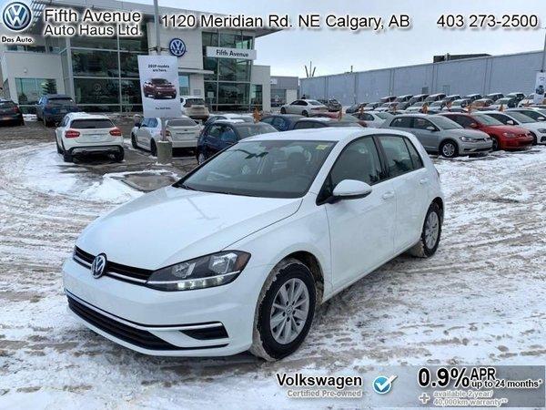 2018 Volkswagen Golf Trendline  - Certified - Bluetooth - $124.40 B/W