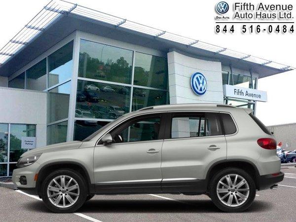 2013 Volkswagen Tiguan 2.0 TSI Comfortline  - Certified - $158.39 B/W
