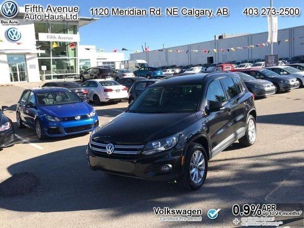 2017 Volkswagen Tiguan Wolfsburg Edition  - Certified - $161.07 B/W