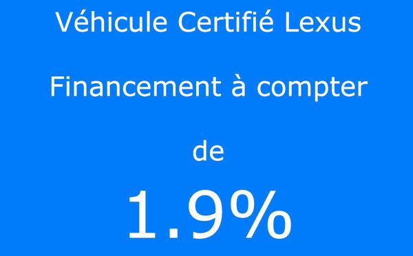 2017 Lexus IS 300 AWD / Certifié Lexus / Taux à compter de 1.9%