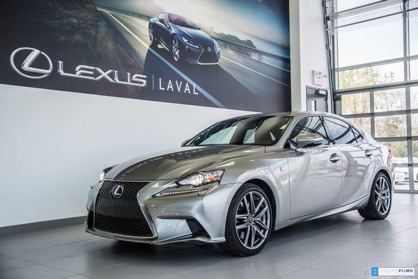 Lexus IS 350 F SPORT 3 TOUT ÉQUIPÉ 2014