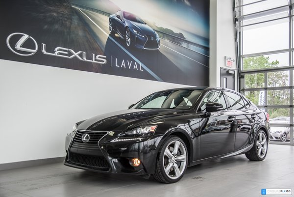 Lexus IS 350 NAVIGATION + CAMÉRA + CUIR 2014