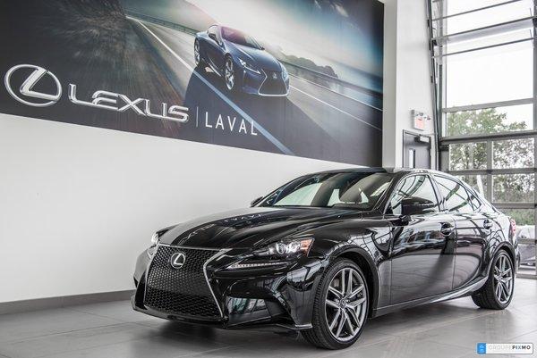 Lexus IS 350 F-Sport 2 Navigation-Camera-Cuir-Toit ouvrant et + 2016
