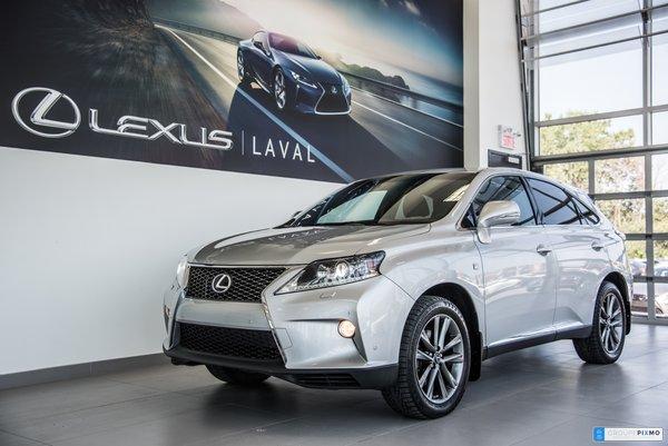 Lexus RX 350 F-sport 2. Financement $237/2-sem tx incluses! 2014
