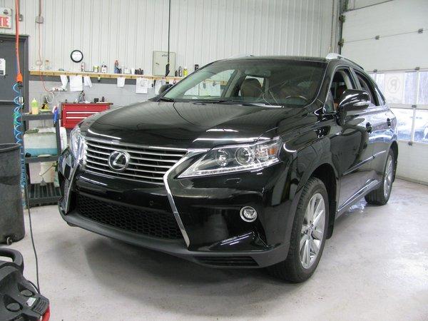2015 Lexus RX 350 Technologie-GPS-HUD-BSM-Mark Levinson