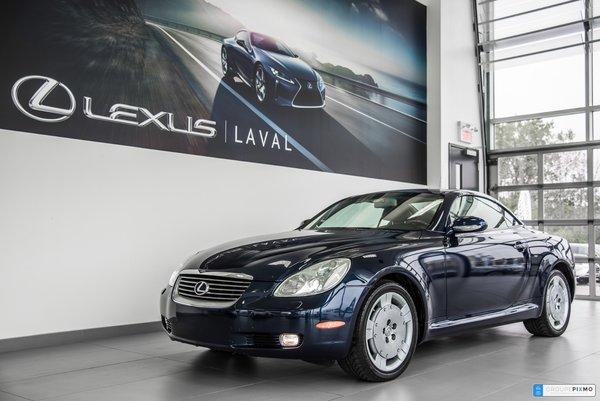 Lexus SC 430 Cabriolet- Navigation-cuir- Bas kilométrage 2002