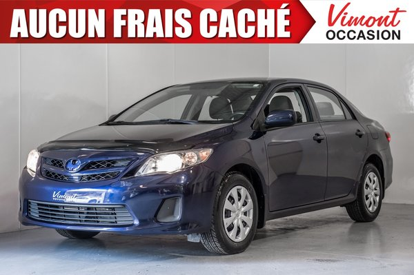 Toyota Corolla 2011+CE+A/C+GR ELEC COMPLET 2011