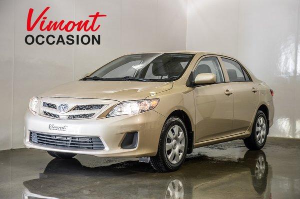 Toyota Corolla CE AUTOM. A/C GARANTIE PROLONGÉE 2013