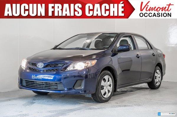 Toyota Corolla CE+A/C+PORTES ELECTRIQUES+BLUETOOTH 2013