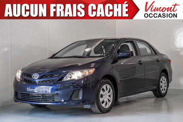 Toyota Corolla 2013+CE+A/C+GR ELEC COMPLET+SIEGES CHAUFFANTS 2013