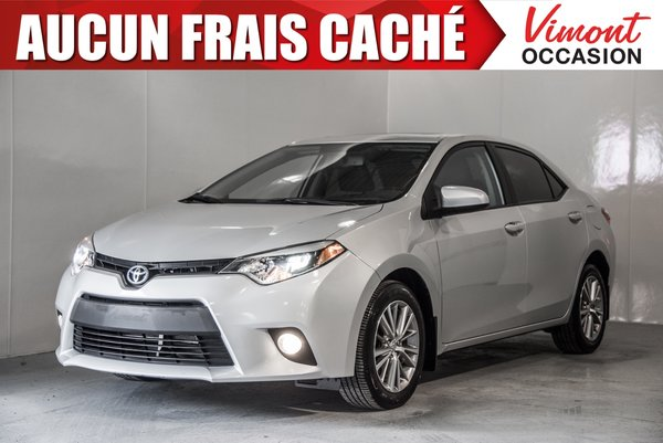 Toyota Corolla 2014+LE+CUIR+TOIT+CAMERA RECUL+SIEGES CHAUFFANTS 2014