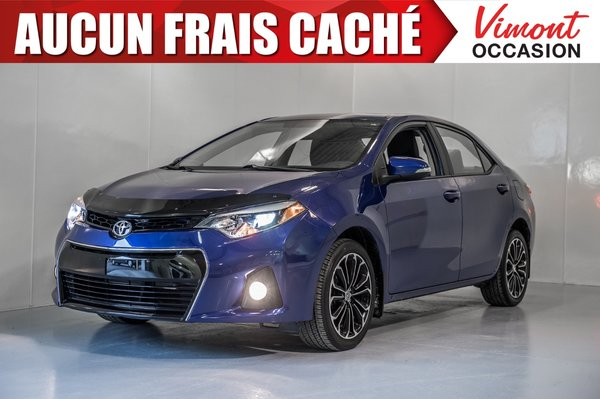 Toyota Corolla 2015+S+TOIT+MAGS17+CAMERA RECUL+SIEGES CHAUFFANTS 2015