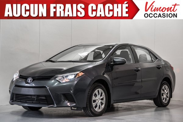 Toyota Corolla 2015+CE+A/C+GR ELEC COMPLET+BLUETOOTH 2015