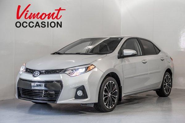 2016 Toyota Corolla S GR AMELIORÉ TOIT MAGS