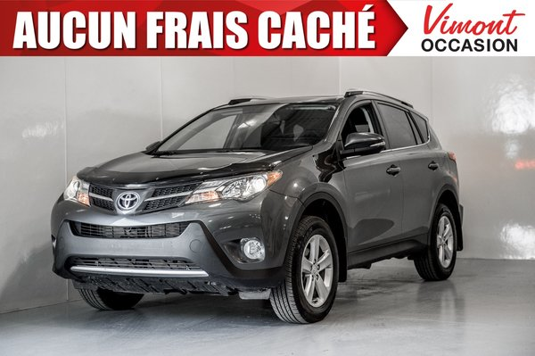 Toyota RAV4 2014+FWD+XLE+CAMERA RECUL+SIEGES CHAUFFANTS+TOIT 2014