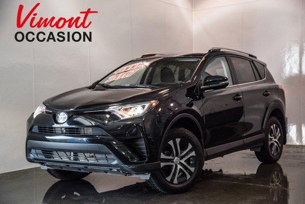 Toyota RAV4 LE AWD SIÈGES CHAUFFANT CAMERA DE RECUL 2017