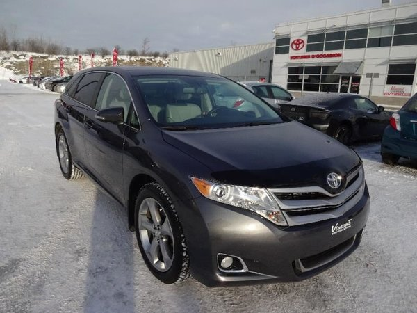 toyota venza xle awd v6 cuir gps 2015 d 39 occasion laval inventaire d 39 occasion vimont toyota. Black Bedroom Furniture Sets. Home Design Ideas