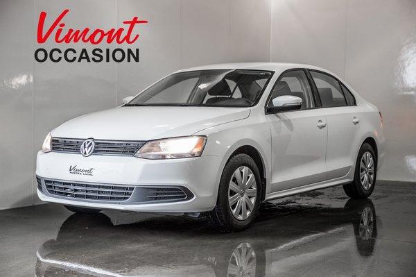 2014 Volkswagen Jetta Sedan TRENDLINE+  GR.ELECTRIQUE+ AIR CLIMATISE+ SIÈGES CHAUFFANTS+ MIROIR ELECTRIQUE