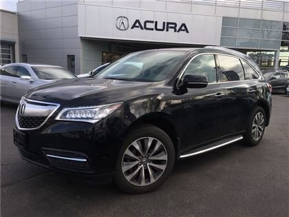 2015 Acura MDX NAVI   2.9%   RAILS   BOARDS   ONLY39326KMS   TINT
