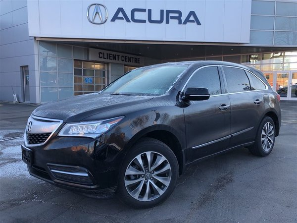 2015 Acura MDX NAVI   3.3%   TINT   290HP   1OWNER   NEWTIRES