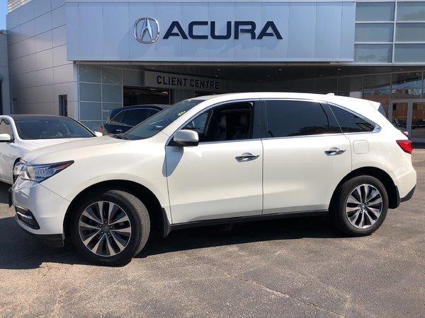 2015 Acura MDX NAVI   1OWNER   OFFLEASE   NEWBRAKES