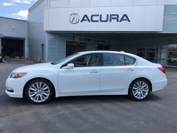2014 Acura RLX ELITE   OFFLEASE   NOACCIDENTS   NAVI   3.4%