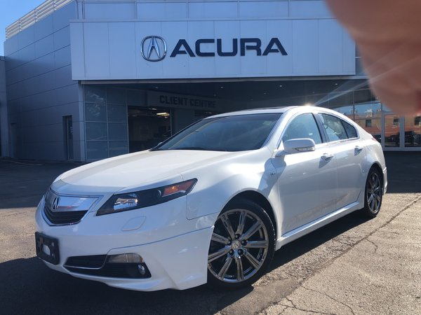 2014 Acura TL ASPEC   OFFLEASE   1OWNER   LEATHER   305HP   3.4%