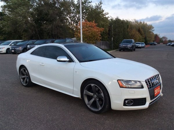 2012 Audi S5 Premium..Navigation..Accident free..