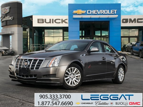 2012 Cadillac CTS LEATHER SEATING PACKAGE
