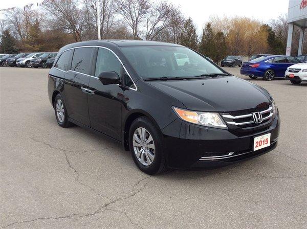 2015 Honda Odyssey EX-L w/Navi..CLEAN CARPROOF..ONE OWNER