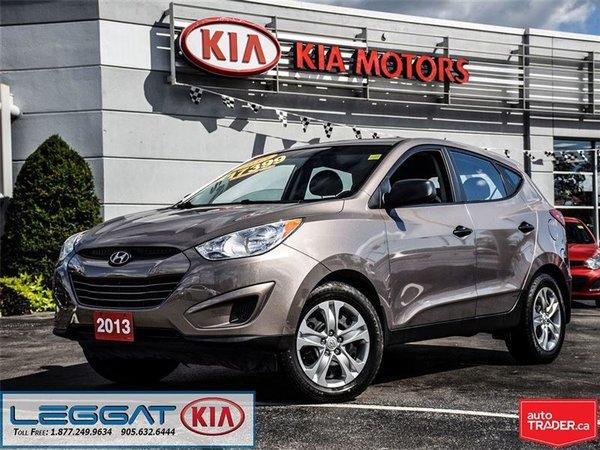 2013 Hyundai Tucson GL - No Accident, Heated Seats, Bluetooth