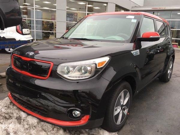 2018 Kia SOUL EV EV Luxury w/Black/Red