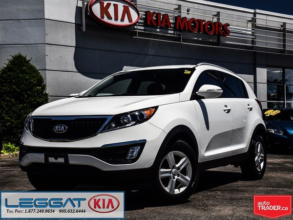 2014 Kia Sportage LX - Leather, Bluetooth, Heated Seats, ECO!