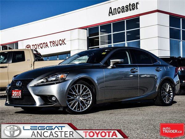 2015 Lexus IS 250 ONLY 35471 KMS!!!