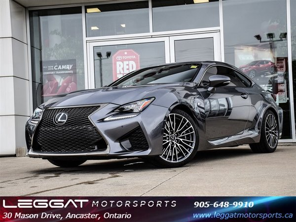 2015 Lexus RC F ONLY 18028 KMS!!