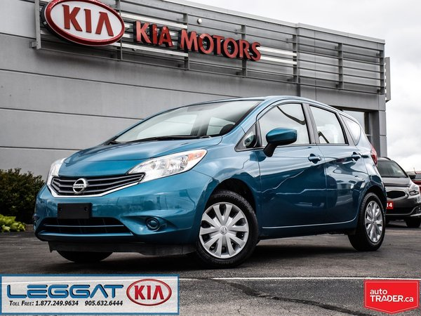 2016 Nissan Versa Note SV -- ACCIDENT FREE, REARVIEW CAMERA,