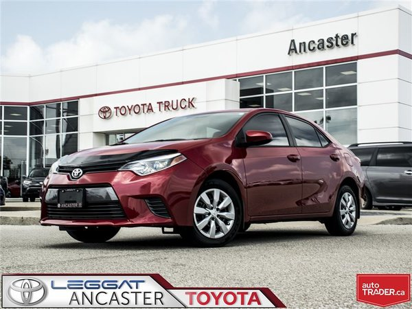 2015 Toyota Corolla LE- ONLY 30371 KMS!!!