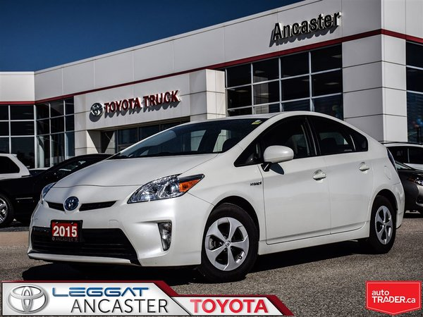 2015 Toyota Prius ONLY 49651 KMS