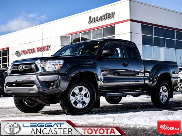 2015 Toyota Tacoma ACCESS CAB V6 4X4 WITH ONLY 56037 KMS!!