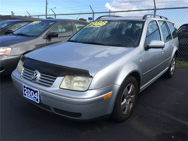 2004 Volkswagen Jetta Wagon GLS