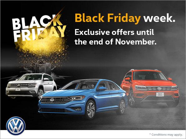 Black Friday Deals At Cambridge Volkswagen Cambridge Volkswagen