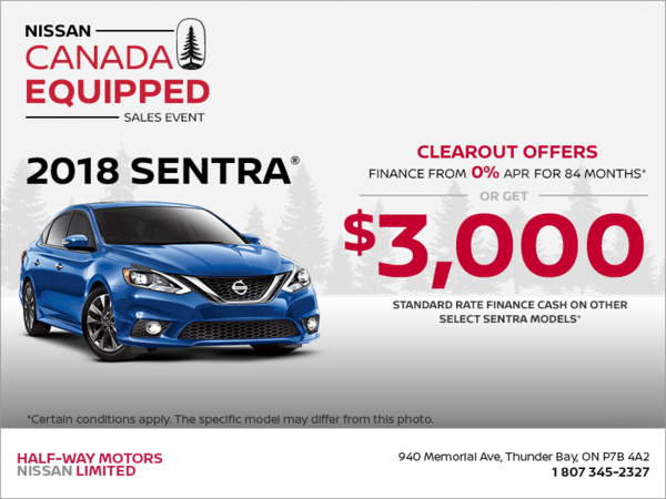 Finance the 2018 Sentra Today!