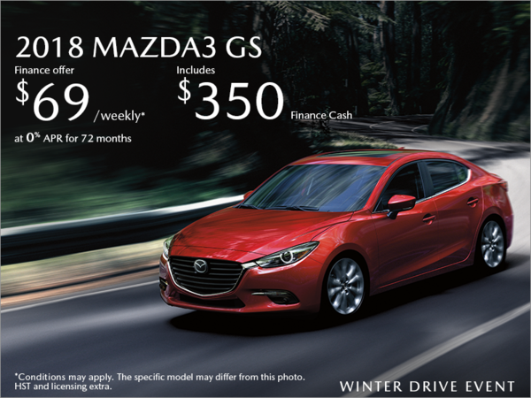 Half-Way Motors Mazda - Get the 2018 Mazda3 Today!