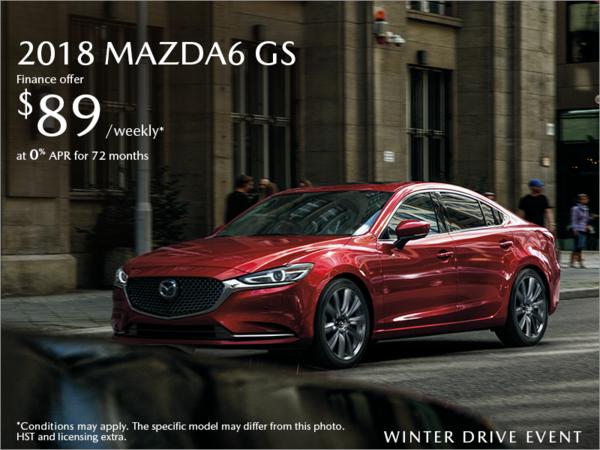 Half-Way Motors Mazda - Get the 2018 Mazda6 Today!