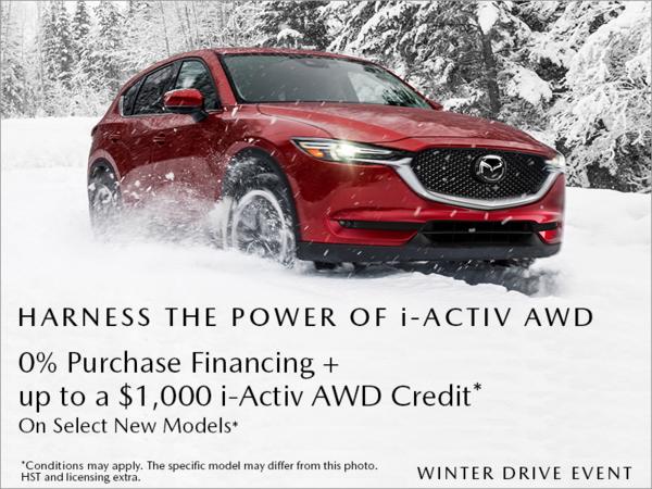 Half-Way Motors Mazda - Mazda Winter Drive Event!